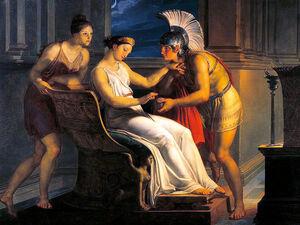 Greek Love Triangle