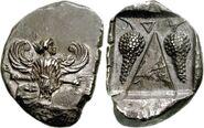Another Iris drachma