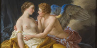 The tale of Psyche and Eros
