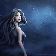 The goddess of night