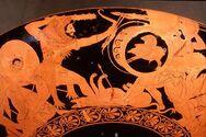 Red Figure Kylix-Geryon