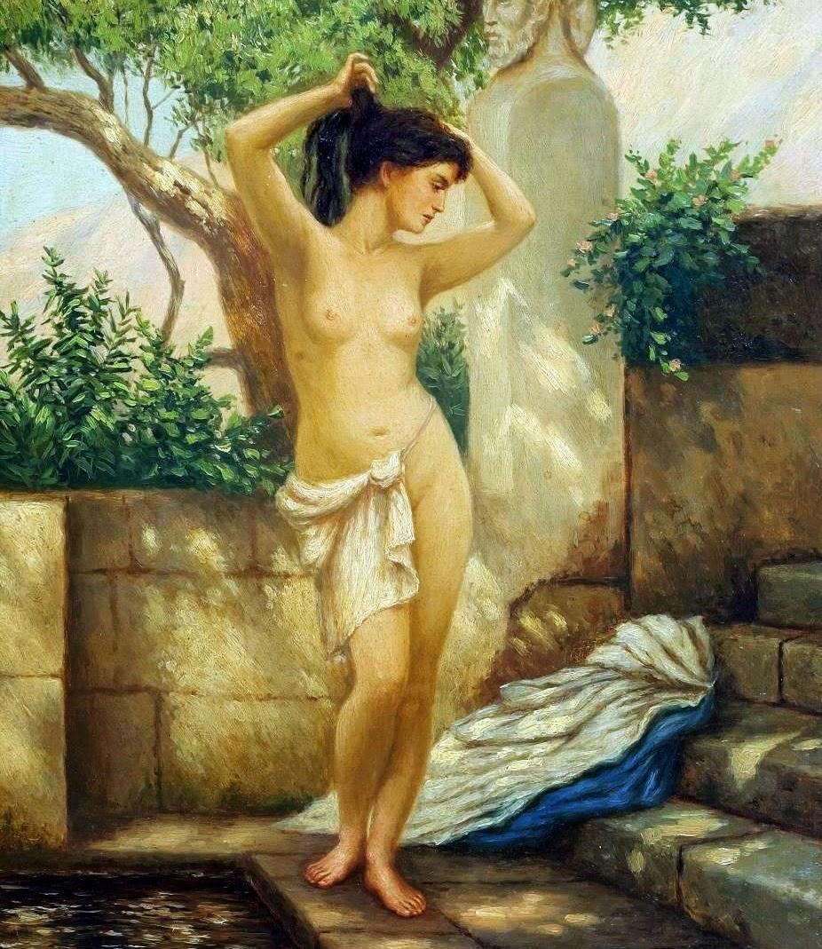 greek sex goddess nude