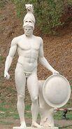Ares Mars Greek God Statue 01