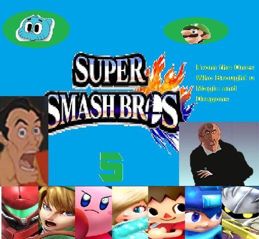 File:Super Smash bros 5 Twitter Poster.jpg