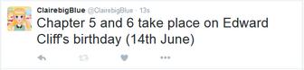 June 14 tweet clairebigblue