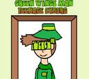 Green Wings Man - Teenage Cyborg (book)