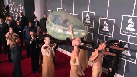 Lady Gaga on the GRAMMY Red Carpet