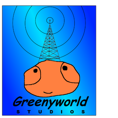GreenyWorld Studios logo (1997-2013)