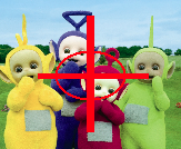 SHOOT THOSE TELETUBBIES OR YOUR FRIED!!