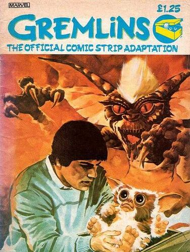Gremlins OGN UK cover