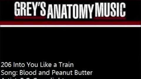 """""""Blood and Peanut Butter"""" - B.C"""