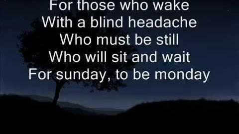 """Sunday"" - Sia"