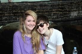 Greyson and his sister