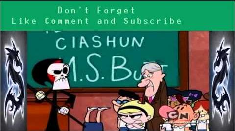 Billy and Mandy Season 7 episode 8 The Greatest Love Story Ever Told Ever ~ Detention X