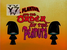 Nigel Planter and the Order of the Peanuts