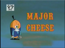 Major Cheese Title Card