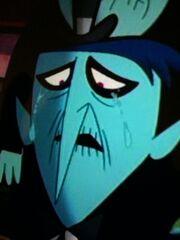 Blue jurior crying