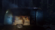 420-Trailer fire aftermath