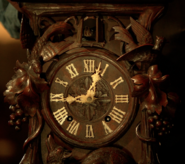 206-Monroe's Black Forest clock