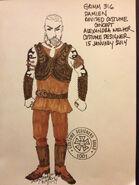 316-Damien costume concept
