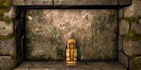 Golden Deity Figure