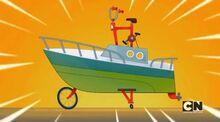 Bike yacht
