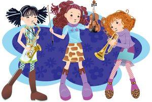 Orchestriffic girls