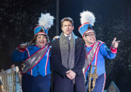Jenny O'Leary, Andy Karl and Kieran Jae as Debbie, Phil and Freddie, respectively