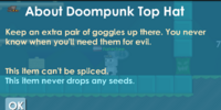 Doompunk Top Hat