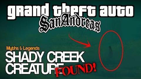 SHADY CREEK CREATURE FOUND! (WARNING)