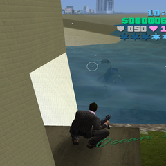 A shark in GTA Vice City