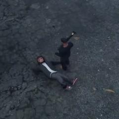 Pedestrian from GTA V dead