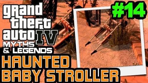 GTA 4 Myths & Legends Myth 14 Haunted Baby Stroller