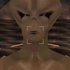 Alien close up