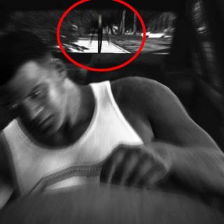 Slenderman sighting in GTA V (most likely false)