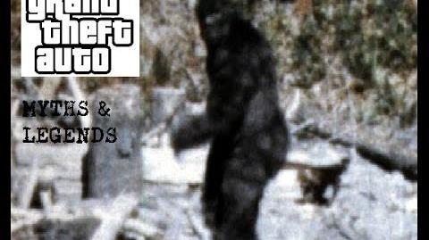 GTA IV Myths & Legends Bigfoot Of Bohan