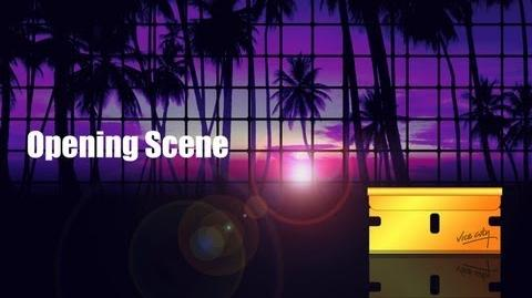 GTA Vice City Opening Scene