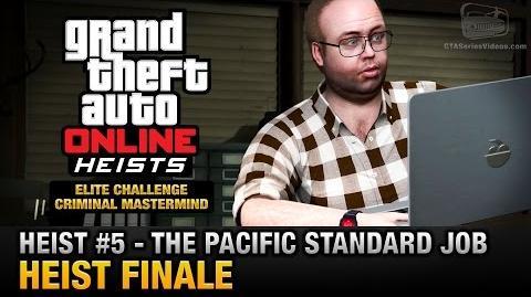 GTA Online Heist 5 - The Pacific Standard Job - Finale (Elite Challenge & Criminal Mastermind)