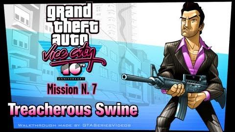 GTA Vice City - iPad Walkthrough - Mission 7 - Treacherous Swine