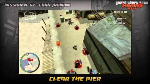 GTA Chinatown Wars - Walkthrough - Mission 62 - Clear the Pier