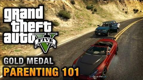 GTA 5 - Mission 72 - Parenting 101 (Optional Mission) 100% Gold Medal Walkthrough