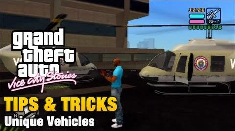 GTA Vice City Stories - Unique Vehicles