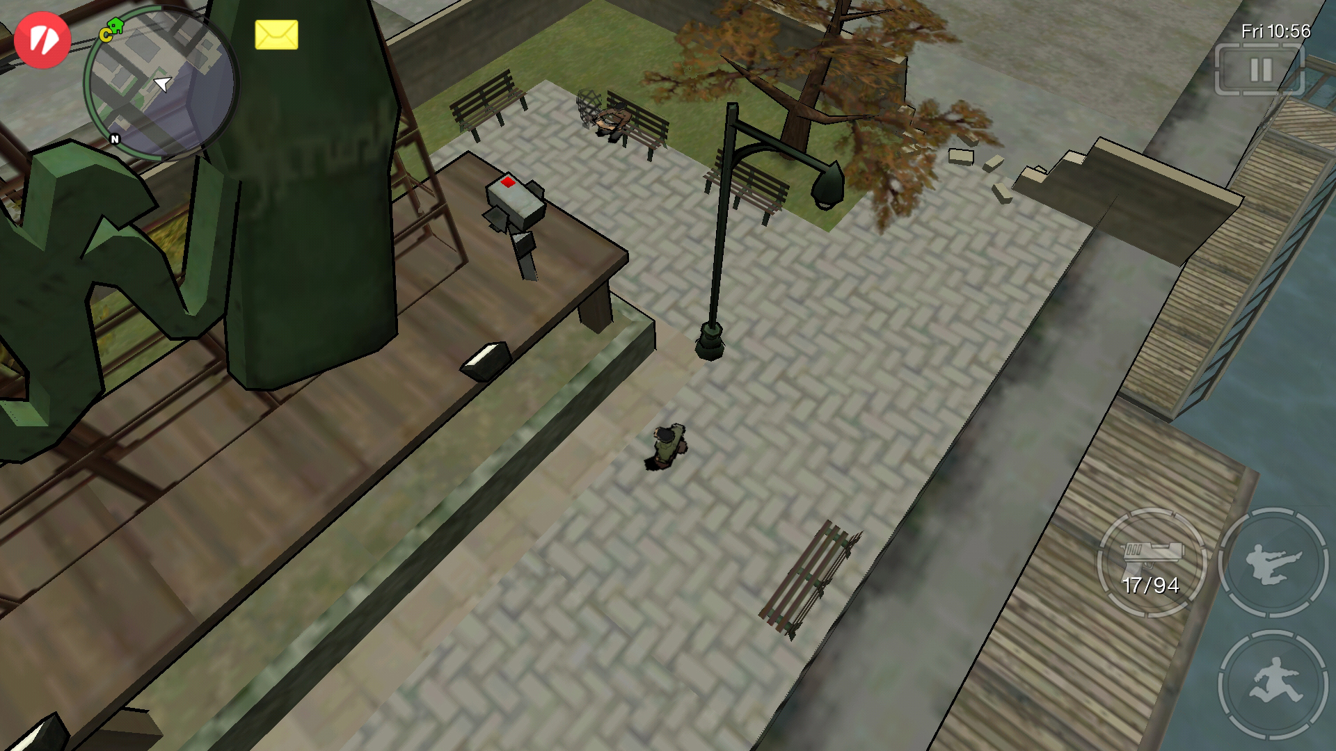 Security Cameras on GTA Chinatown Wars