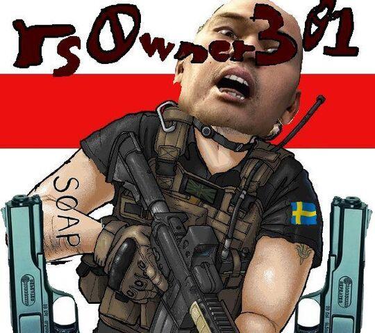 File:Soap Tat' Sveriges flagga Jap' head rs0wner301 2 pistoler .jpg