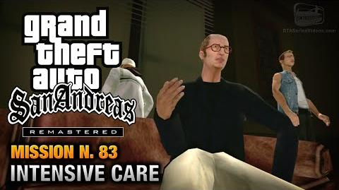 GTA San Andreas Remastered - Mission 83 - Intensive Care (Xbox 360 PS3)