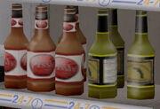Pissh Beer Bottle