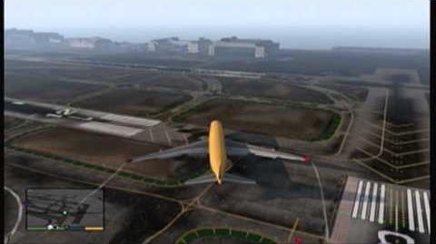 GTA 5 - SECRET AIRPLANE