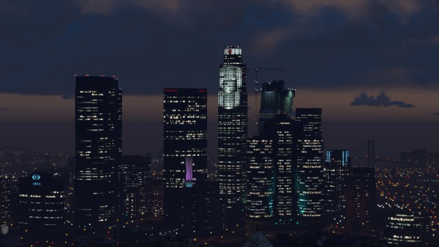 File:DowntownLSNight-GTAV.jpg