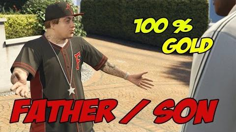 Father Son - GTA 5 100% Gold