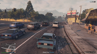 Vehicle Import Mobile GTAO Stopped at Lights
